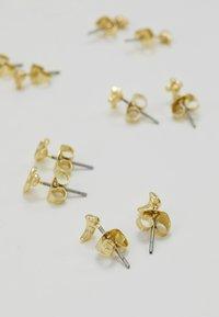 Leslii - 6 PACK - Earrings - gold-coloured - 2