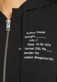 Diesel - UFLT-VERTIX-HZ - Pyjama top - black - 3