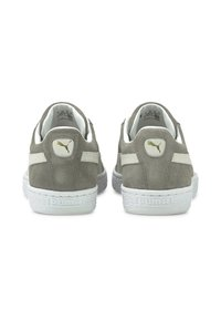 Puma - SUEDE CLASSIC - Trainers - steel gray-puma white - 4