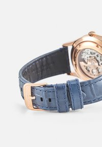 Emporio Armani - Watch - rosegold-coloured/blue - 1