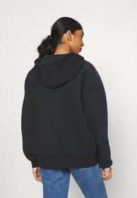 Nike Sportswear - HOODIE - Sweatshirt - black/white - 2
