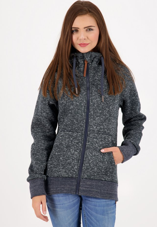 YASMINAK - Fleece jacket - marine