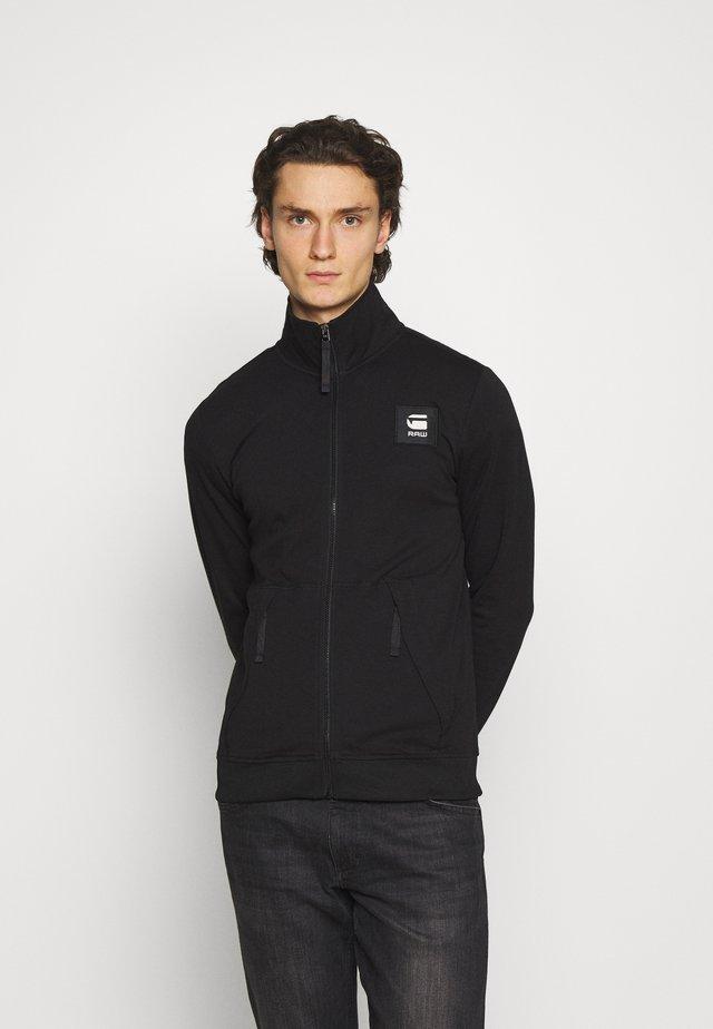 ZIP THROUGH TRACK TWEETER - Training jacket - black