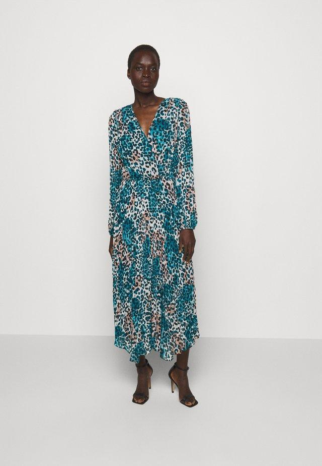 Sukienka letnia - ivory gemstone black multi