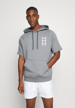 RIVAL MULTILOGO  - Kapuzenpullover - pitch gray light heather/onyx white