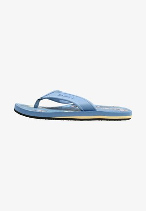 ARCH GRAPHIC  - T-bar sandals - blue print