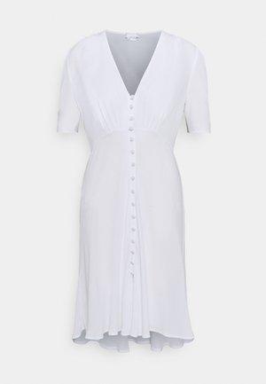 SABRINA DRESS - Košilové šaty - white