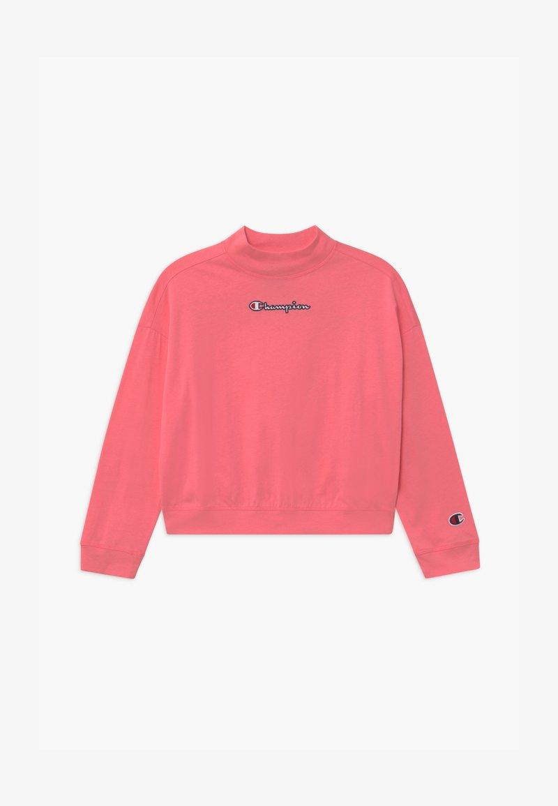 Champion - ROCHESTER LOGO CREWNECK  - Top sdlouhým rukávem - pink