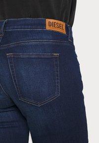Diesel - D-EBBEY - Flared Jeans - dark blue - 3