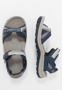Keen - TERRADORA II OPEN TOE - Walking sandals - navy/light blue - 1