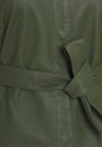 Ibana - ROSE - Shirt dress - dark green - 2
