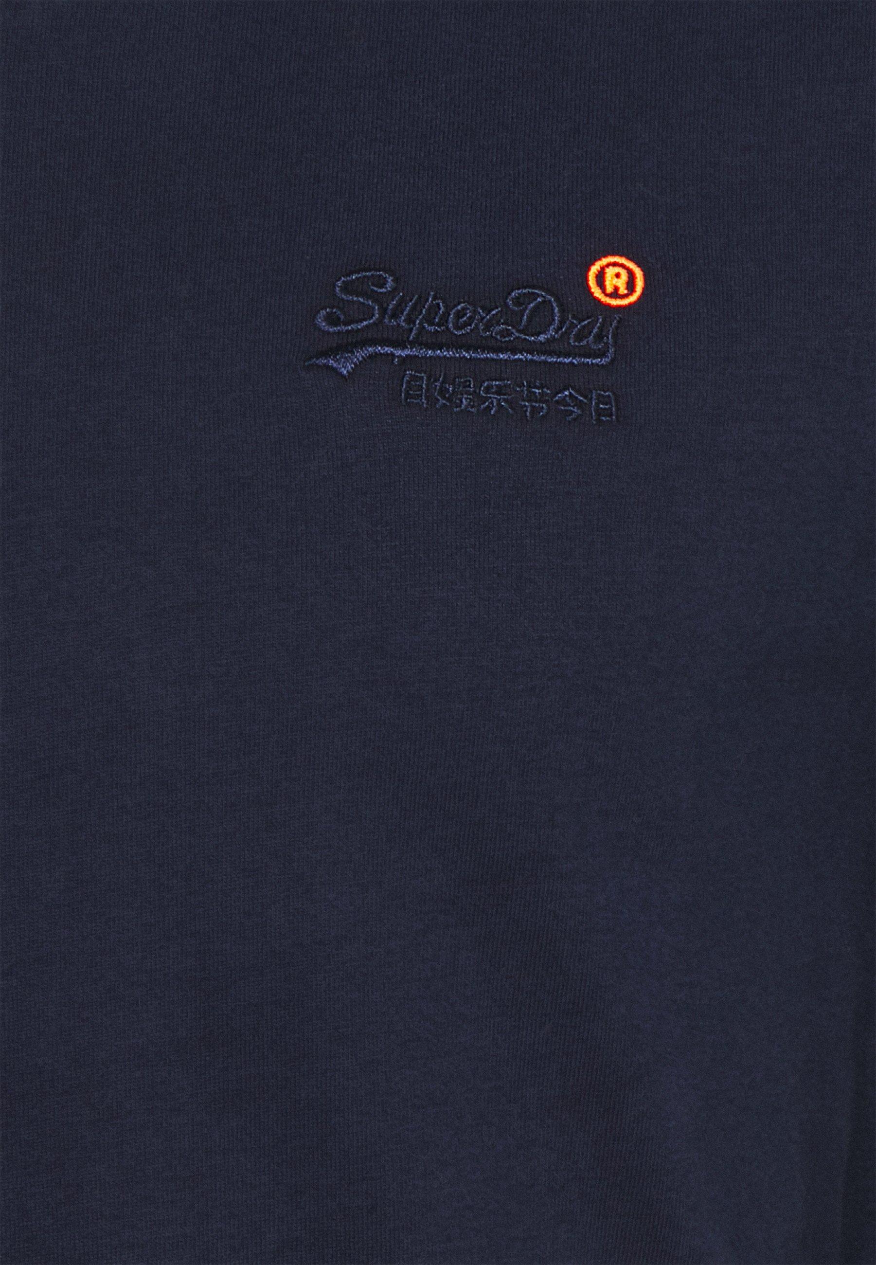 Superdry Classic Tee - T-shirts Rich Navy/mørkeblå