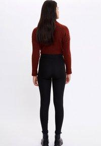 DeFacto - Leggings - Trousers - black - 2