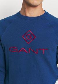 GANT - COLOR LOCK UP CNECK - Sweatshirt - crisp blue - 5