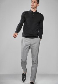 Next - Oblekové kalhoty - light grey - 1