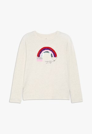 GIRL - Long sleeved top - beige melange