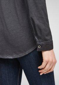 Q/S designed by - Button-down blouse - black - 5