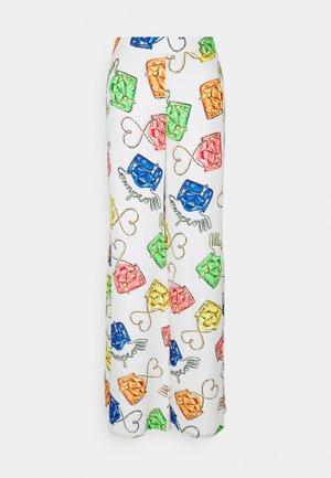 TROUSERS - Spodnie materiałowe - fantasy white