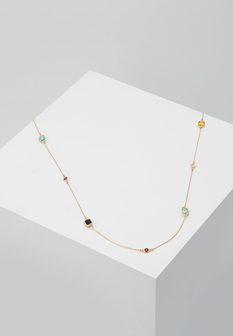 SNÖ of Sweden - TWICE CHAIN NECK  - Necklace - gold-coloured