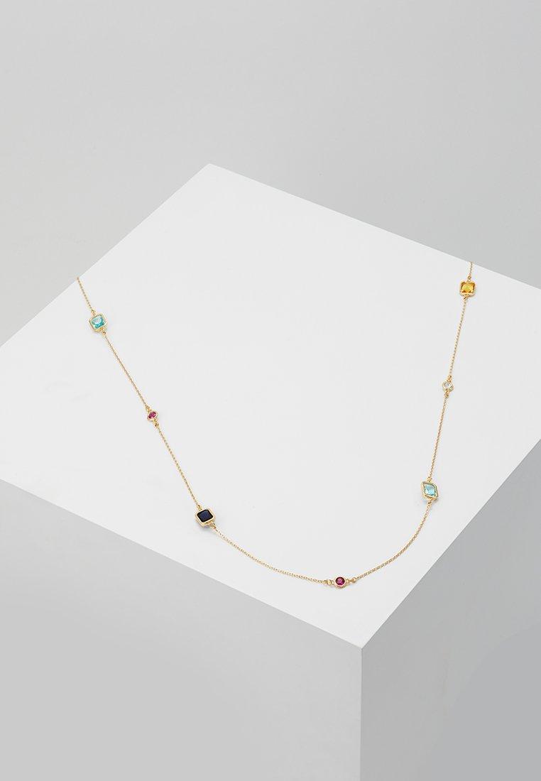 SNÖ of Sweden - TWICE CHAIN NECK  - Smykke - gold-coloured