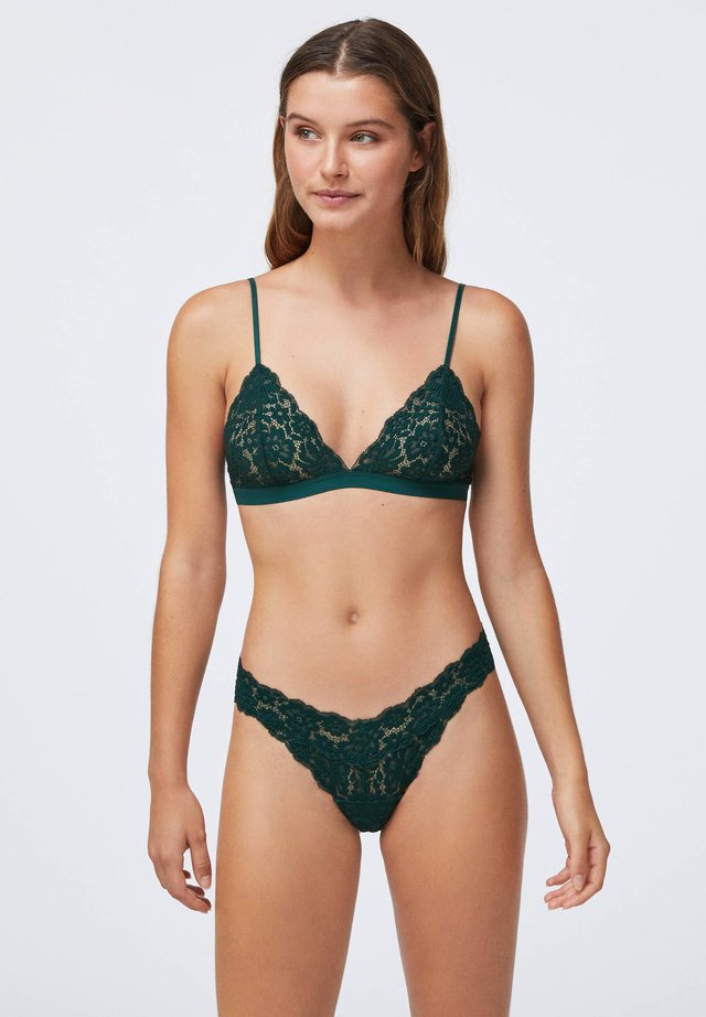 COMFORT - Soutien-gorge triangle - evergreen