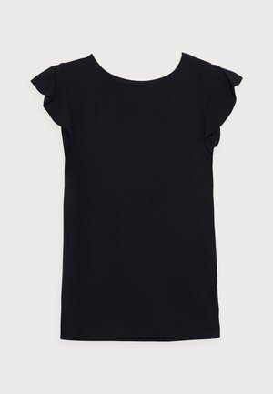 Camiseta estampada - deep black
