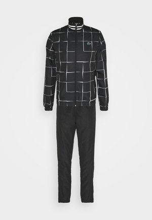TENNIS TRACKSUIT GRAPHIC - Träningsset - black/white