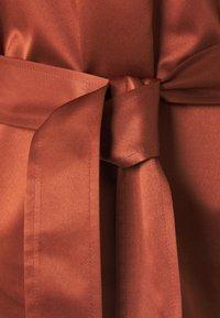Samsøe Samsøe - CELESTINA SHORT DRESS - Cocktail dress / Party dress - brandy brown - 2