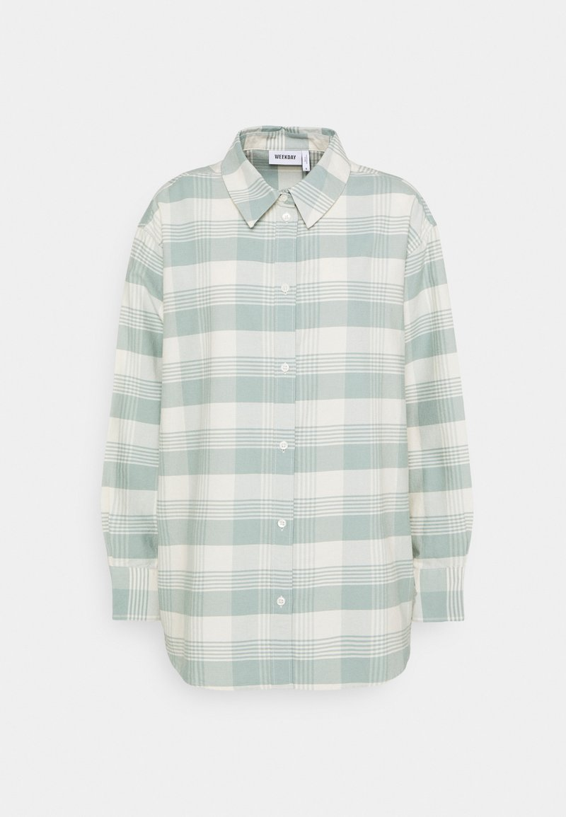 Weekday - EDYN OXFORD - Button-down blouse - dusty green