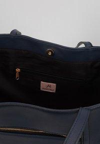 Anna Field - SHOPPING BAG / POUCH SET - Shopping bag - dark blue - 5