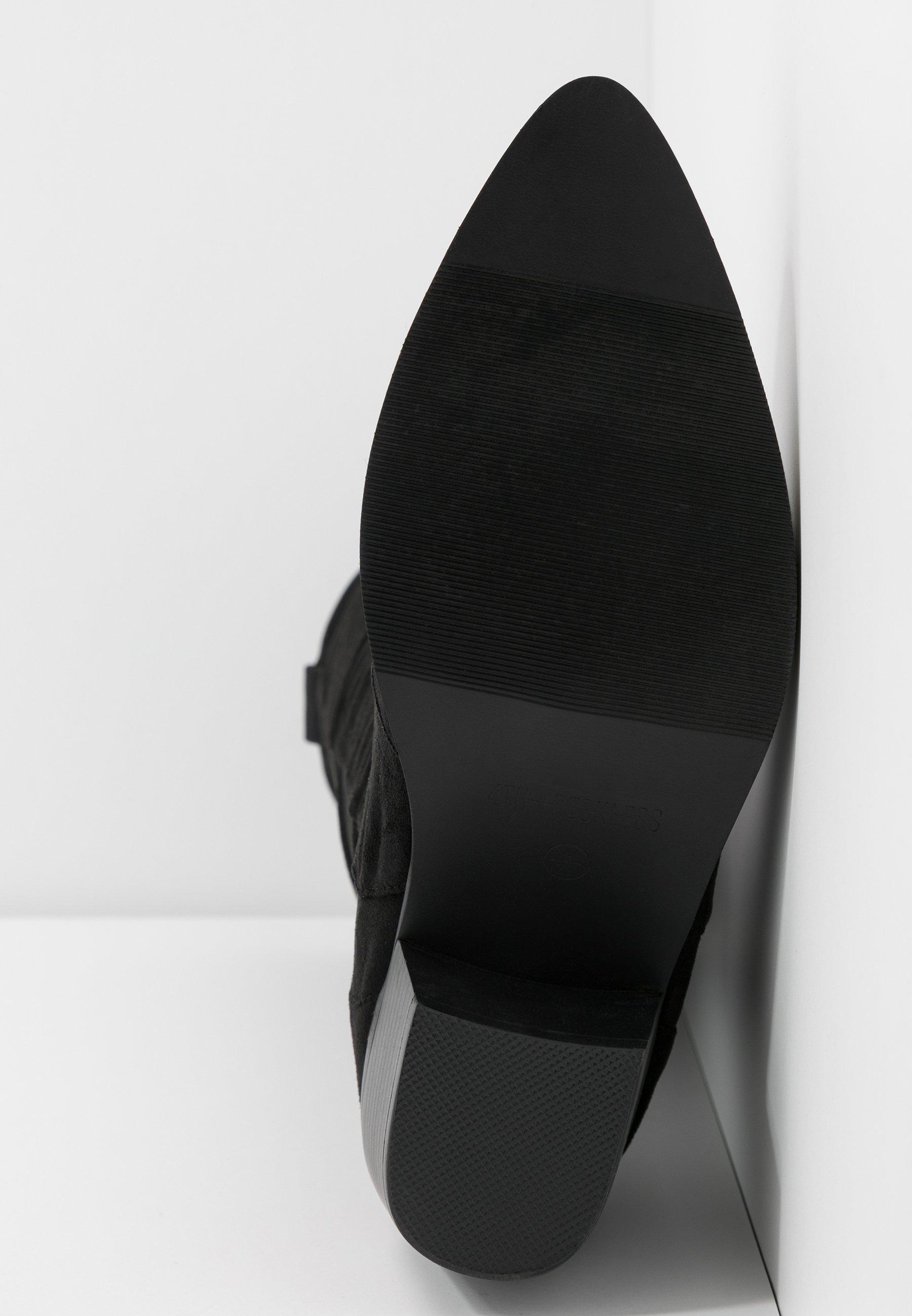 4th & Reckless RAFFERTY - Santiags - black - Bottes femme Dégagement