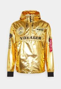 Alpha Industries - VOYAGER NASA ANORAK - Veste légère - gold - 4