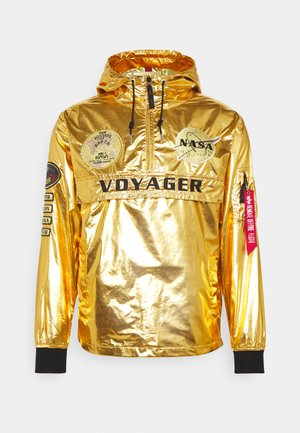VOYAGER NASA ANORAK - Summer jacket - gold