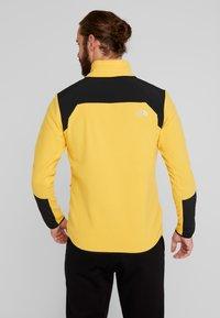 The North Face - GLACIER PRO FULL ZIP - Fleecejacke - yellow/black - 2