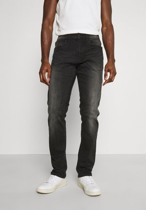 CULPEPER - Straight leg jeans - black