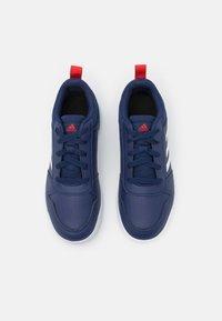 adidas Performance - TENSAUR UNISEX - Sports shoes - dark blue/footwear white/active red - 3