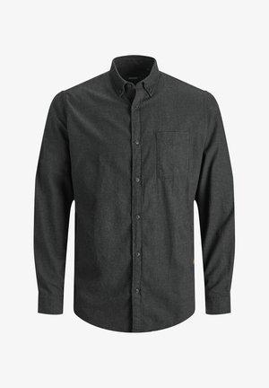 JJECLASSIC HEATHER STS - Formal shirt - dark grey melange