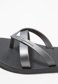 Ipanema - KIREI - Pool shoes - black/silver - 2