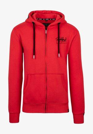 ARNE - Zip-up hoodie - rot