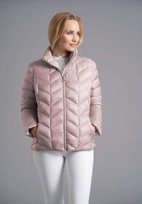 Junge - Down jacket - blush - 0