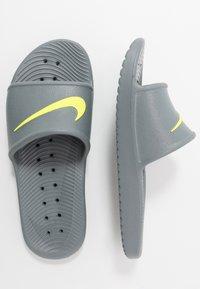 Nike Sportswear - KAWA SHOWER - Rantasandaalit - cool grey/volt - 1