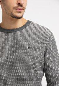 TUFFSKULL - Stickad tröja - dunkelgrau - 3