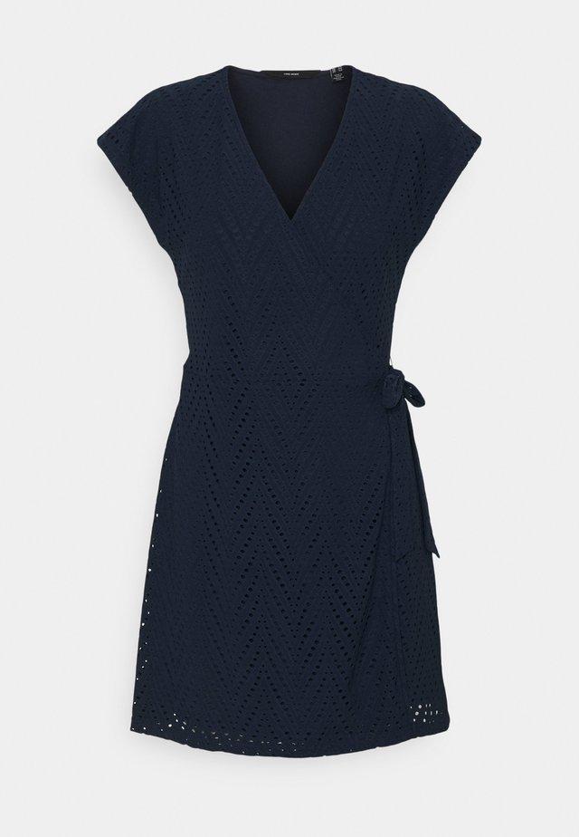 VMLEAH SHORT DRESS - Korte jurk - navy blazer