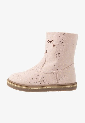 Classic ankle boots - light pink