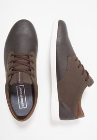 Jack & Jones - JFWJAMIE COMBO - Trainers - dark brown - 1
