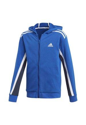BOLD FULL-ZIP HOODIE - Zip-up hoodie - blue