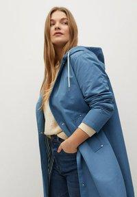 Violeta by Mango - Classic coat - niebieski - 3