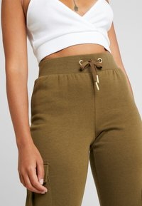 ONLY Petite - ONLESME LONG PANTS - Tracksuit bottoms - beech - 4