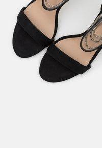 ALDO - BLING - High Heel Sandalette - black - 5
