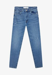 Stradivarius - Jeans Slim Fit - blue - 4